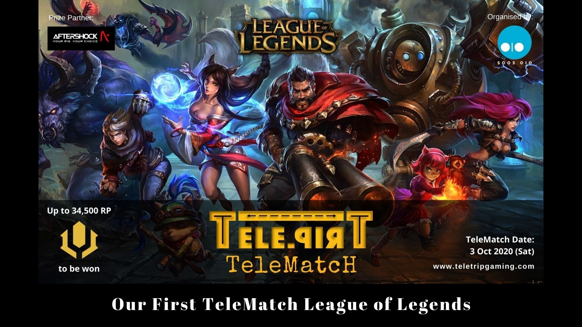Our First TeleMatch League of Legends